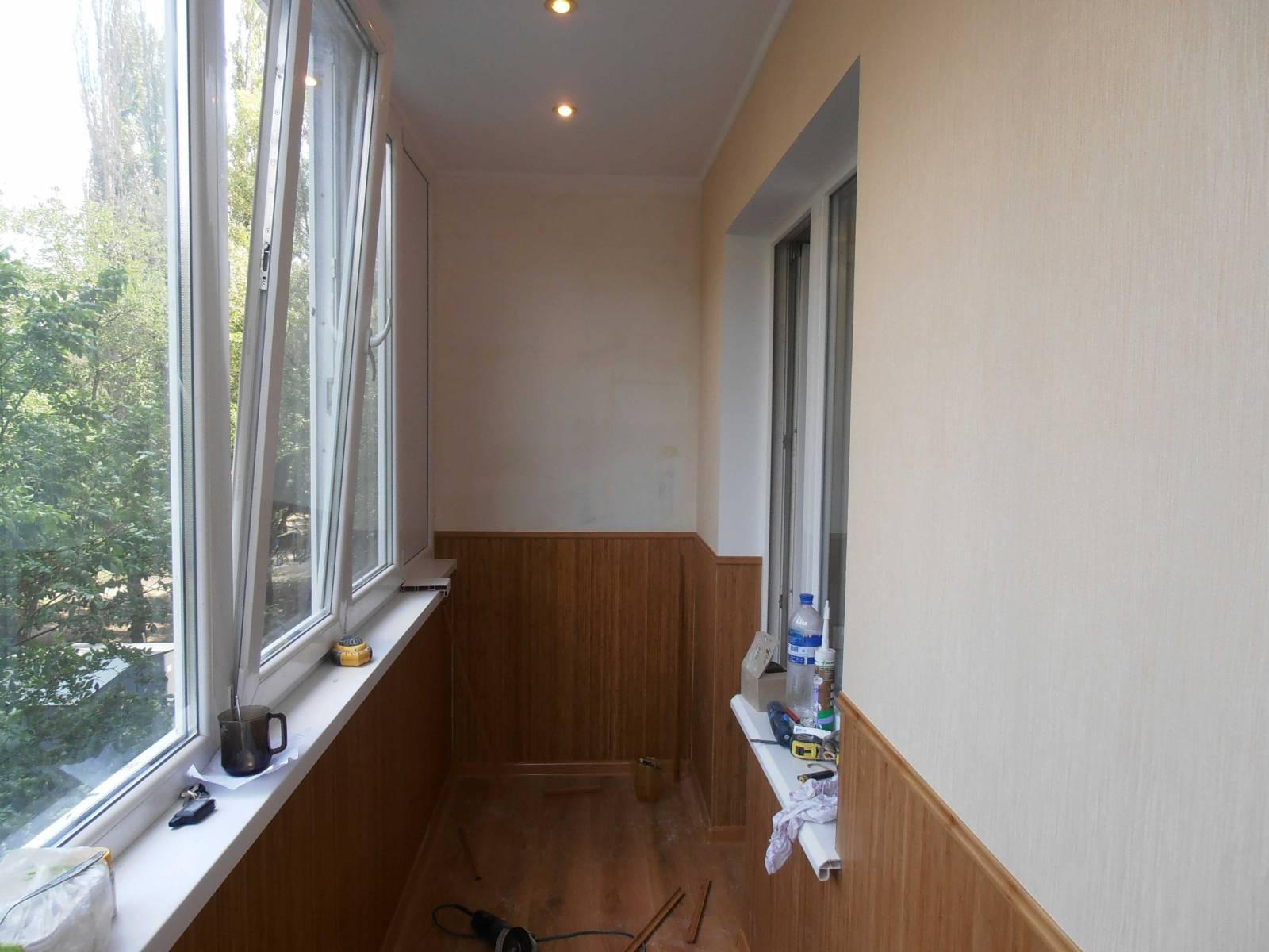 Ремонт балконов - фото наших работ - фотоальбом - ремонт в д.